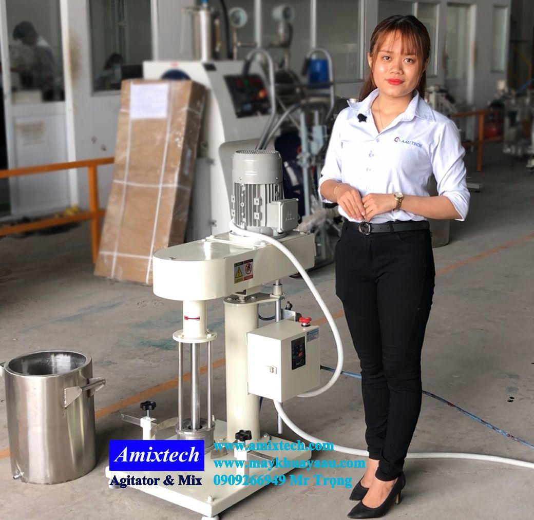 máy nghiền rổ thí nghiệm 5-10kg