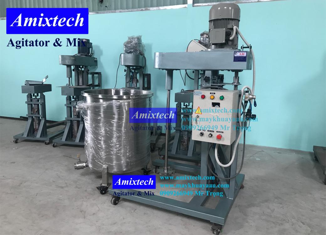 máy khuấy hóa chất 200 lít Amix D03