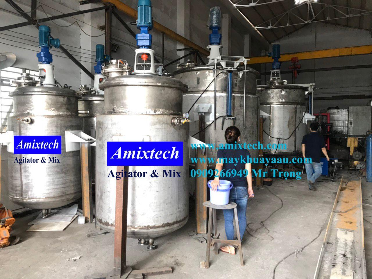 bồn khuấy hóa chất công nghiệp