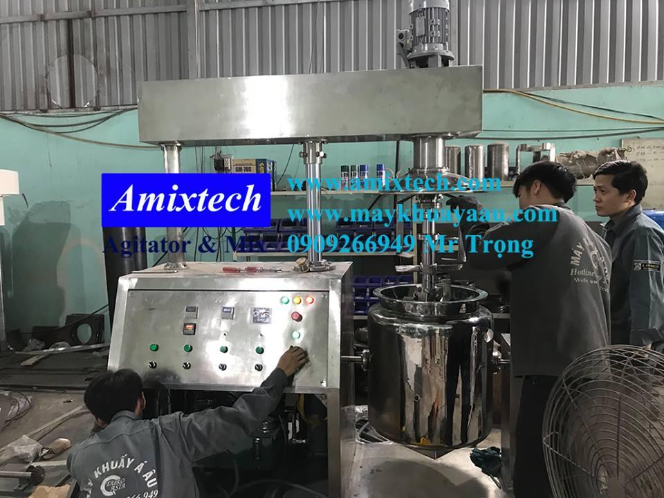 xưởng máy khuấy amixtech