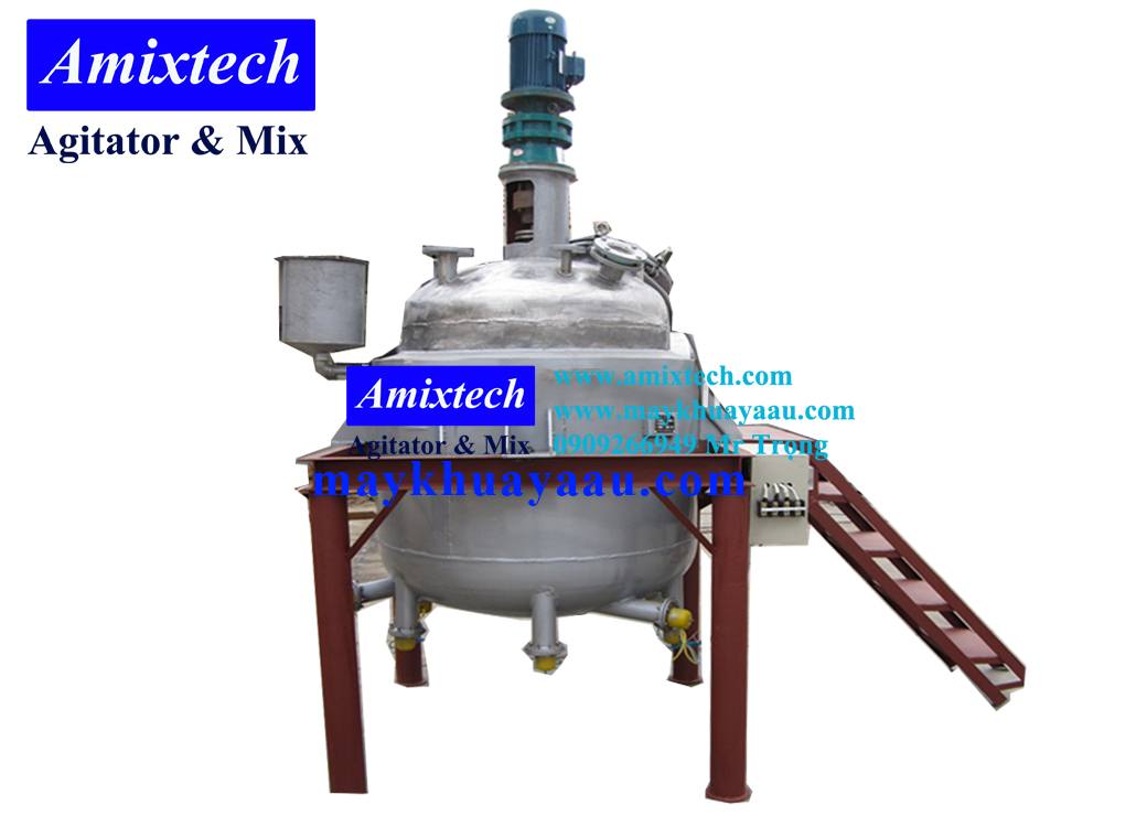 bồn khuấy công nghiệp Amix-BK11