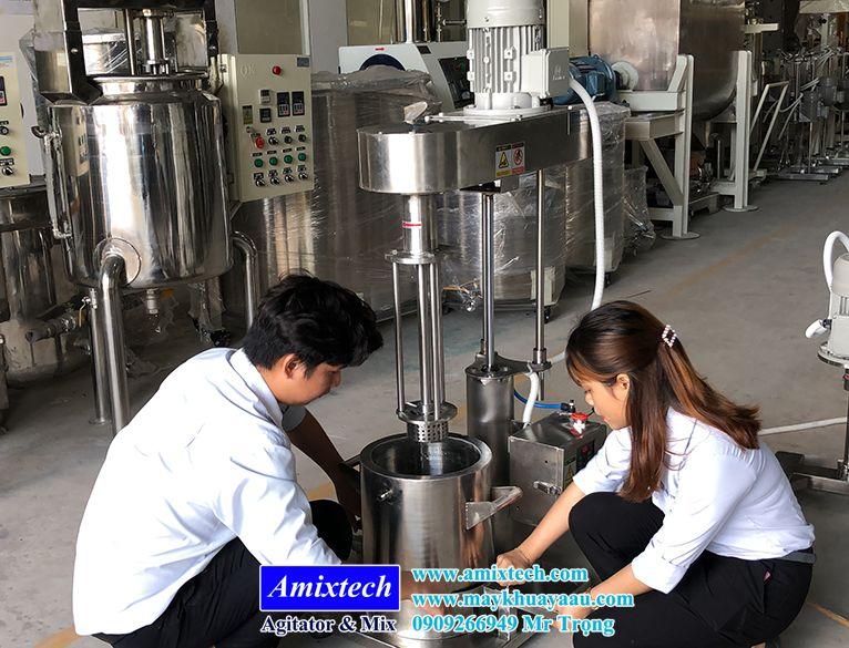 máy nhũ hóa thí nghiệm 5 lít-10 lít